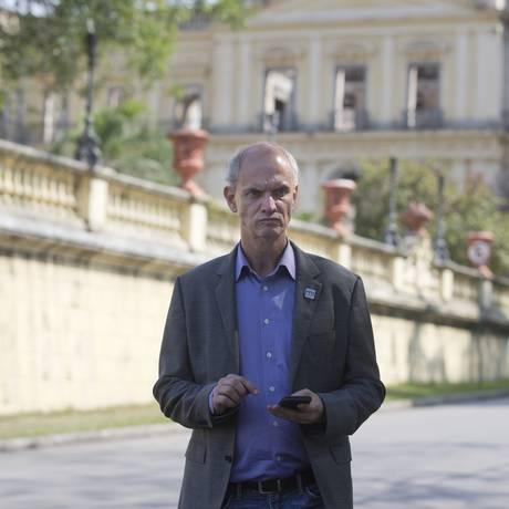 Alexandre Kellner disse que foi informado que pessoas estavam perguntando 'quando o garimpo começaria' Foto: Márcia Foletto / Agência O Globo