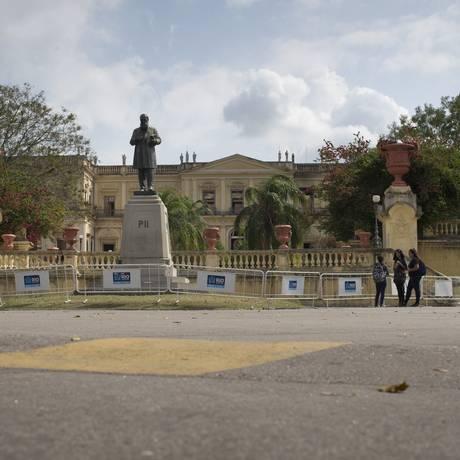Museu Nacional, na Quinta da Boa Vista Foto: Márcia Foletto / Agência O Globo