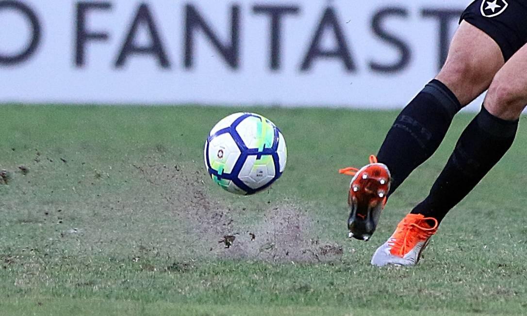 Clássico entre Fluminense e Botafogo foi no Maracanã Foto: Lucas Tavares / Lucas Tavares