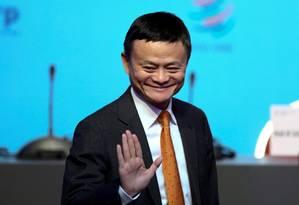 Jack Ma, o homem mais rico da China e cofundador do conglomerado Alibaba Foto: Marcos Brindicci / REUTERS/11-12-2017