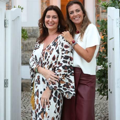 Roberta Limmer e Selma Ribeiro do Galleria+ Foto: Karin Schaly