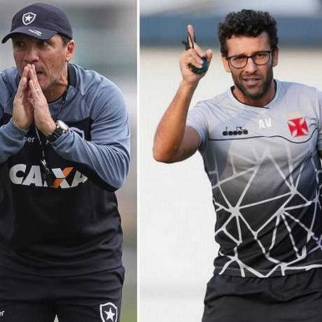 Zé Ricardo e Valentim trocaram de clube nesta temporada Foto: Vitor Silva/Botafogo e Rafael Ribeiro/Vasco