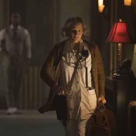 A atriz Jodie Foster em 'Hotel Artemis' Foto: Matt Kennedy / Divulgação