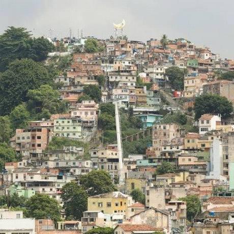 O Morro da Providência Foto: Brenno Carvalho / Agência O Globo / Arquivo