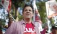 Fernando haddad faz corpo a corpo com eleitores na zona sul de SP