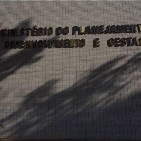 Fachado do Ministério do Planejamento, em Brasília Foto: Arquivo