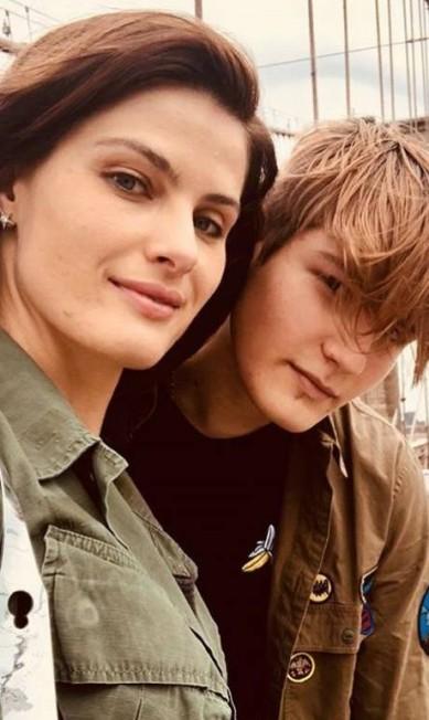 Zion e Isabeli: momento selfie Reprodução/ Instagram