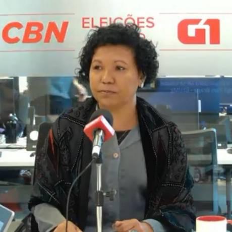 Candidata Vera Lúcia (PSTU) Foto: Reprodução