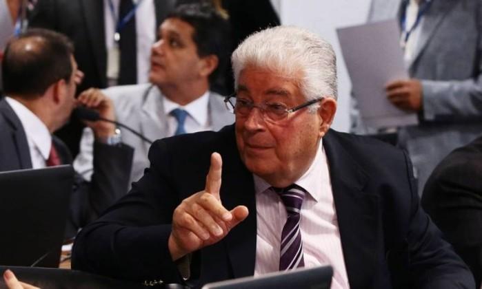 O senador Roberto Requião (MDB-PR) Foto: Gilvado Barbosa / Agência O Globo