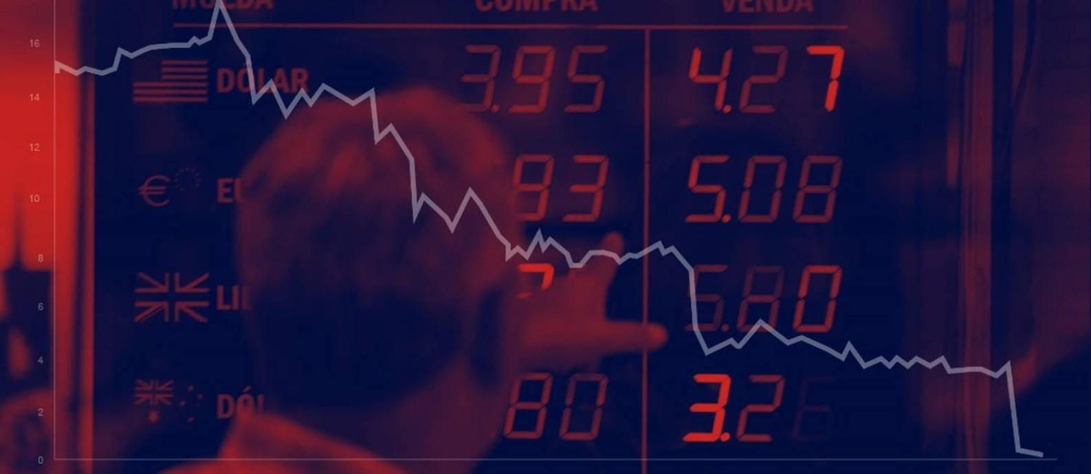 Quebra do Lehman Brothers deu início à crise de 2008 Foto: Ilustração O Globo