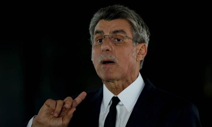 O senador Romero Jucá (MDB-RR) Foto: Givaldo Barbosa / Agência O Globo