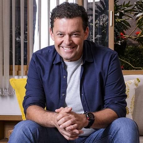 O jornalista Fernando Rocha, apresentador do programa Bem Estar, da TV Globo Foto: Ramon Vasconcelos / Rede Globo