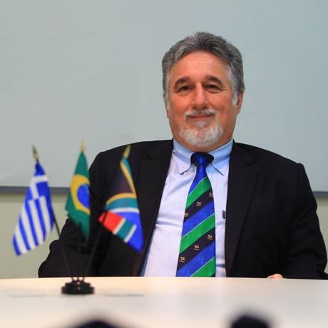 Stavros Xanthopoylos, consultor na área de educação de Jair Bolsonaro Foto: Urbano Erbiste:Urbano Holanda Erbiste / Urbano Erbiste/Agência O Globo/03-07-2014
