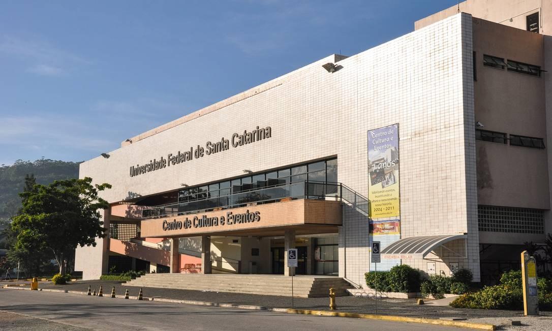 Operação da PF na Universidade Federal de Santa Catarina ocorreu em 14 de setembro de 2017 Foto: Henrique Almeida / Agecom/UFSC