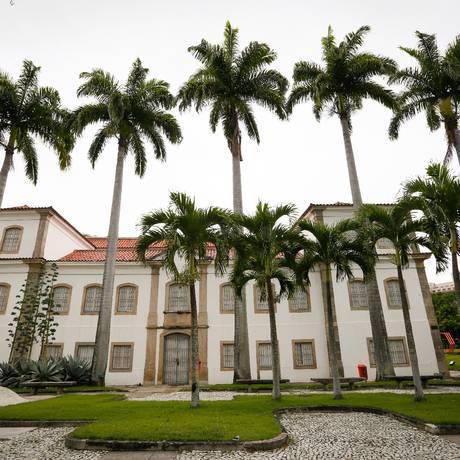 Museu Histórico Nacional é um dos prédios que o Ministério Público Federal pede a interdição por falta de Certificado de Aprovação do Corpo de Bombeiros Foto: Pablo Jacob / Agência O GLOBO
