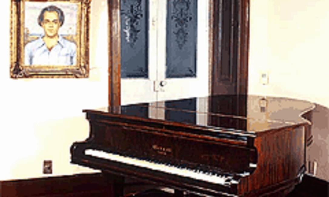 Museu Villa-Lobos abriga piano e outros instrumentos que pertenceram ao maestro Foto: http://museuvillalobos.org.br