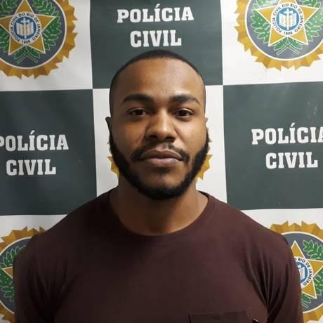 Acusado de matar ex-namorada foi capturado Foto: Divulgação/Polícia Civil