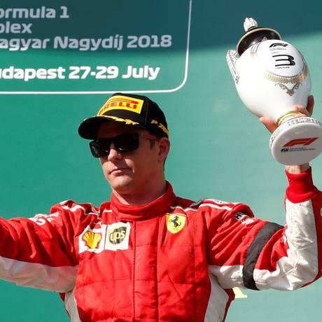 Kimi Raikkonen está de saída da Ferrari Foto: Bernadett Szabo / REUTERS