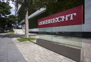 Odebrecht foi um estudo de caso do relatório global da Transparência Internacional Foto: Edilson Dantas / Agência O Globo