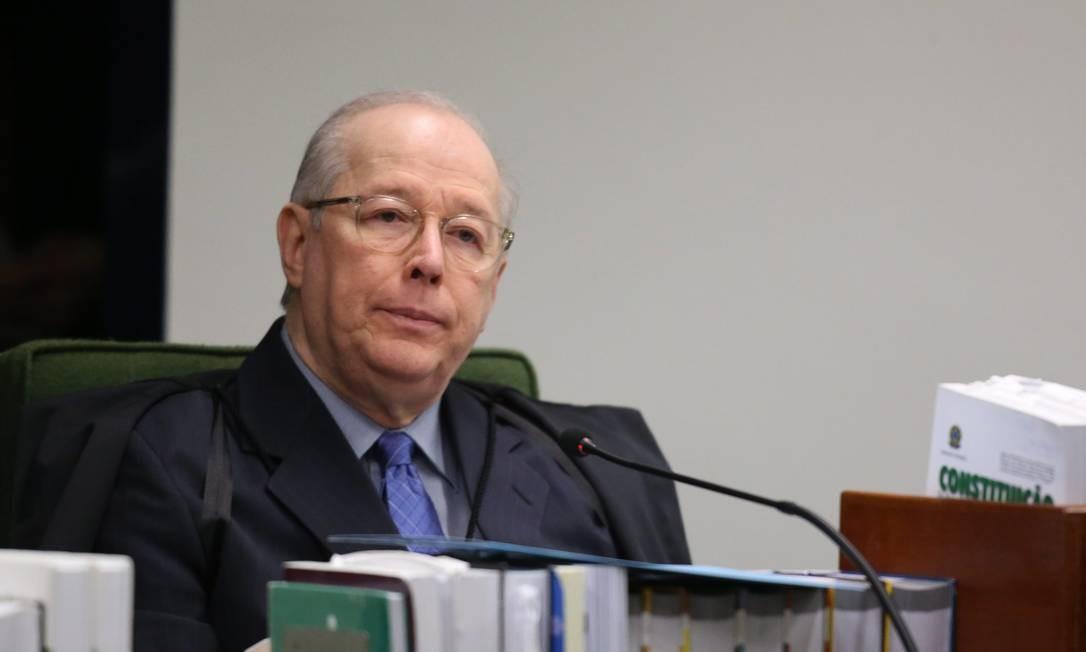 O ministro Celso de Mello, durante sessão da Segunda Turma Foto: Ailton de Freitas/Agência O Globo/04-09-2018
