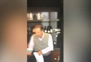 Celso Frare foi filmado com dinheiro vivo Foto: Reprodução