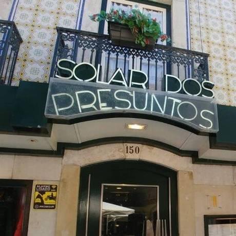 Solar dos presuntos é uma das indicações do arquiteto Chicô Gouvêa Foto: Divulgação