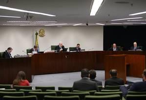 Sessão da Segunda Turma do STF Foto: Ailton de Freitas / Agência O Globo
