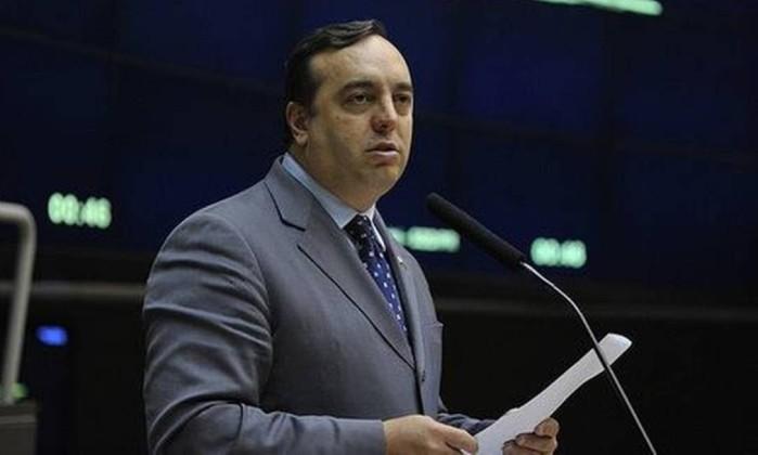 O deputado federal Delegado Francischini (PSL-PR) Foto: Reprodução/Facebook