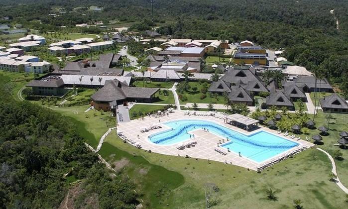 Vista aérea do Club Med Trancoso, resort de luxo na Bahia Foto: Reprodução