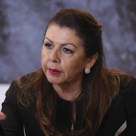A governadora de Roraima, Suely Campos, durante entrevista Foto: Ailton de Freitas/Agência O Globo/23-02-201