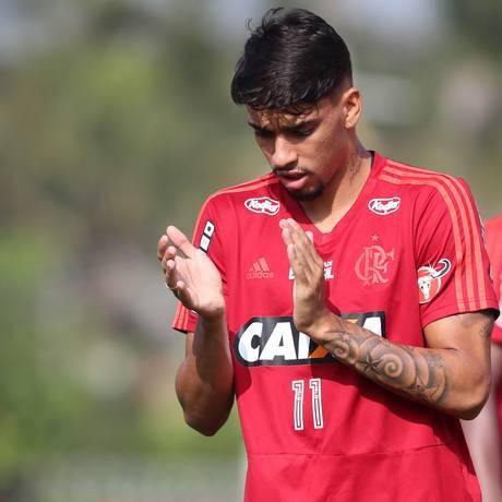 Lucas Paquetá é pretendido por clubes europeus Foto: Gilvan de Souza/Flamengo