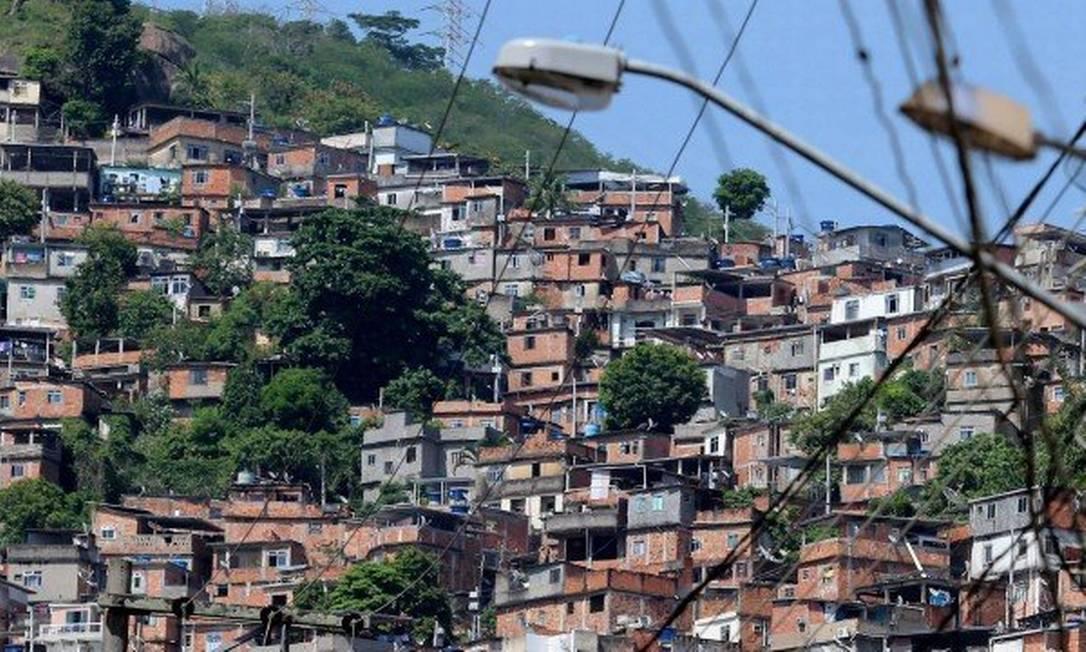 Morro do Turano Foto: Fabiano Rocha/Arquivo / Agência O Globo