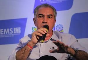 Governador do Mato Grosso do Sul, Reinado Azambuja (PSDB) Foto: Reprodução/Facebook