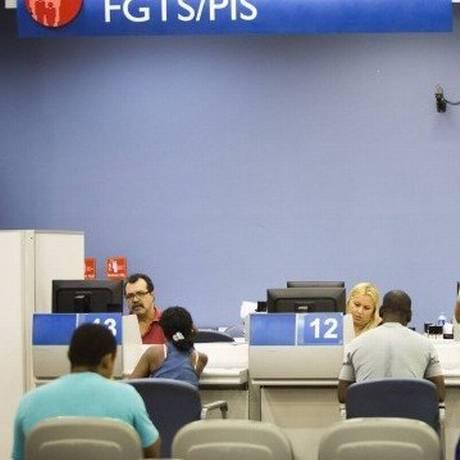 Cotas do PIS/Pasep para clientes de bancos privados já começaram Foto: Arquivo - Agência O Globo