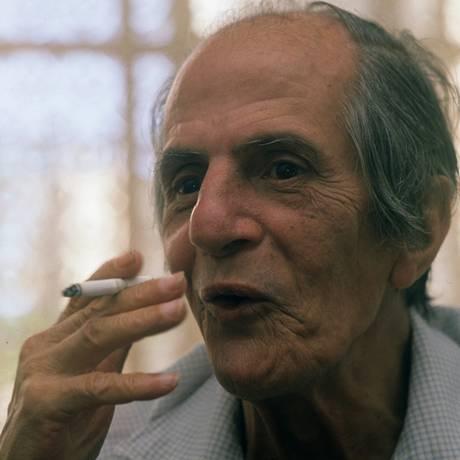 O escritor Paulo Mendes Campos Foto: Ricardo Beliel /21-12-1998