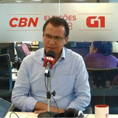 Candidato do PT ao governo de São Paulo, Luiz Marinho Foto: Reprodução / G1
