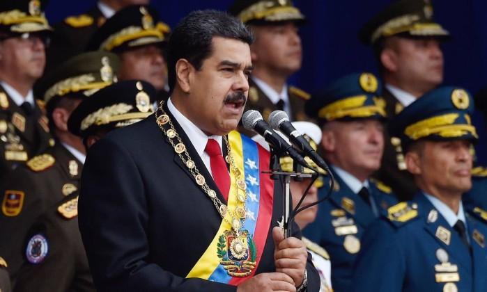 O presidente da Venezuela, Nicolás Maduro Foto: Juan Barreto / AFP