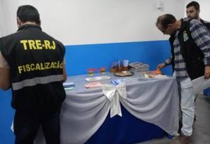 O peração ocorreu em igrejas de Macaé, no interior do Rio Foto: Luan Santos