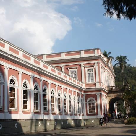 Museu Imperial, em Petrópolis Foto: Bruno Agostini/Agência O Globo/18-10-2010