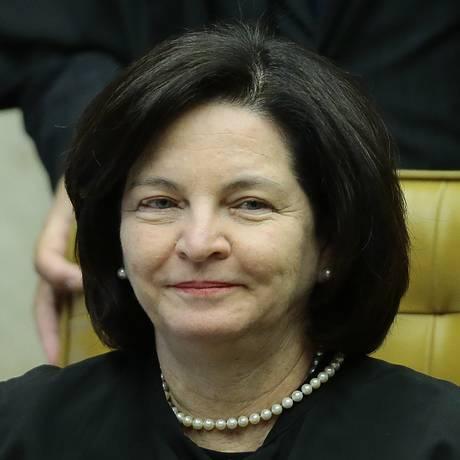 A procuradora-geral da República, Raquel Dodge, durante sessão do STF Foto: Jorge William / Agência O Globo