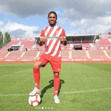 Douglas Luiz é apresentado no Girona Foto: Reprodução