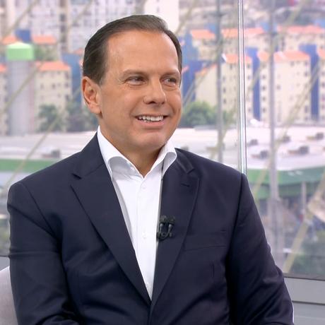João Doria, candidato do PSDB ao governo de São Paulo Foto: Reprodução/TV Globo