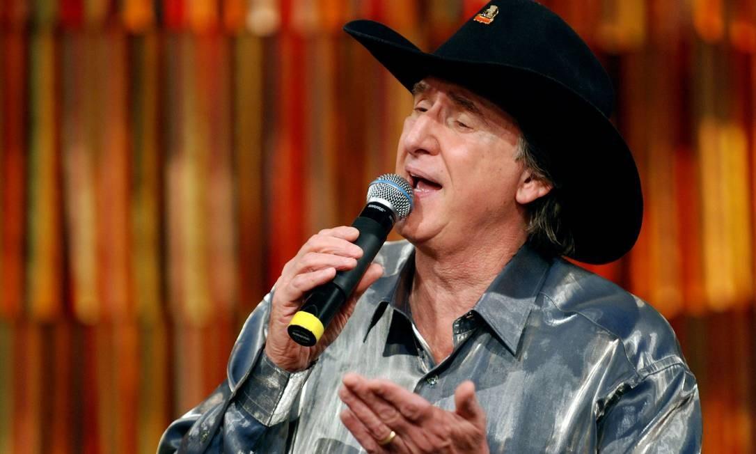 O cantor Sérgio Reis, que ganha a biografia