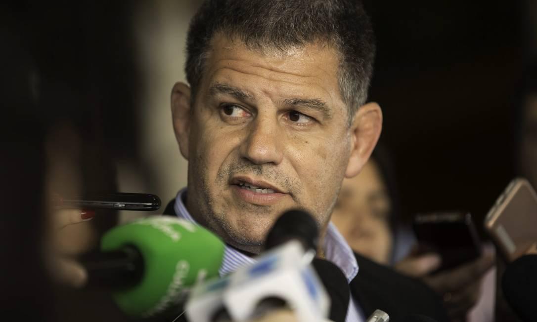 Gustavo Bebianno, presidente do PSL Foto: Bruno Rocha/Fotoarena / Agência O Globo