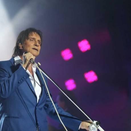 Show do Roberto Carlos foi adiado devido uma gripe do cantor Foto: Roberto Moreyra / O Globo