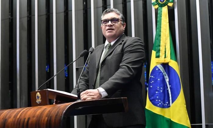 O senador Rudson Leite (PV-RR), suplente até 2023 Foto: Waldemir Barreto / Agência Senado