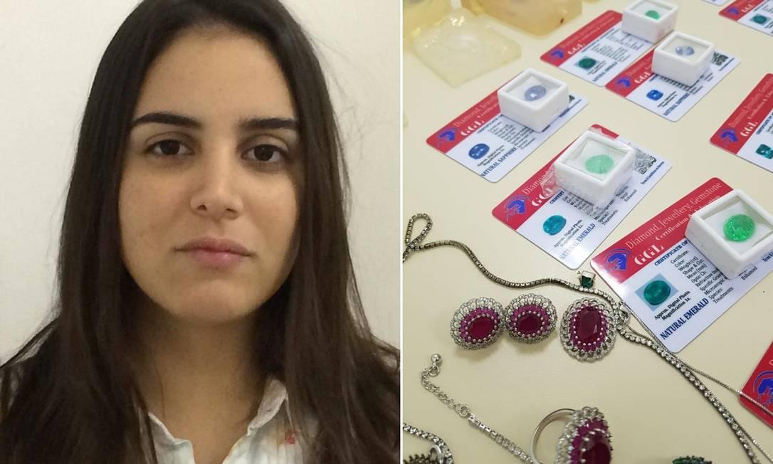 Mariana Souza Mota, suspeita de vender joias falsificadas Foto: Reprodução