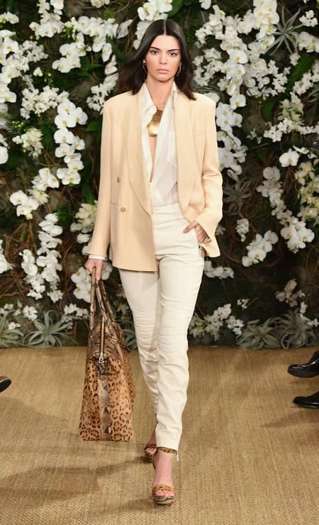 Kendall Jenner para Ralph Lauren Foto: Slaven Vlasic / Getty Images
