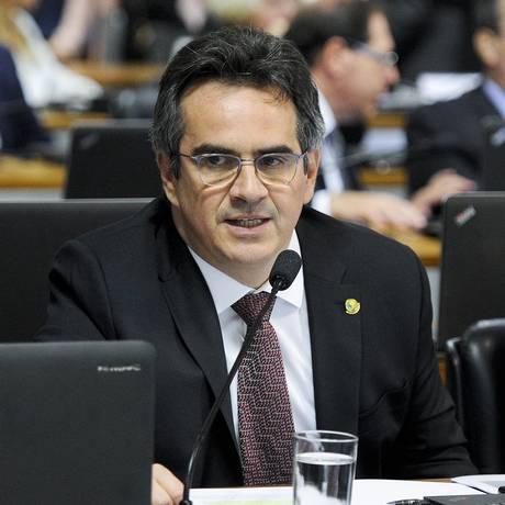 O senador Ciro Nogueira (PP-PI), durante sessão de CCJ do Senado Foto: Edilson Rodrigues/Agência Senado/11-04-2018