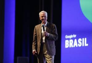 O empresário Jorge Paulo em fortuna estimada em R$ 105 bilhões Foto: Marcos Alves / Agência O Globo